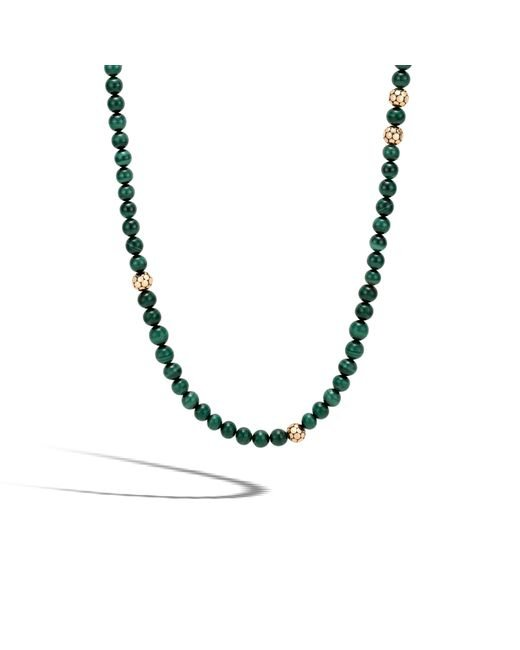 John Hardy | Multicolor Three-bead Dot Chain Necklace | Lyst