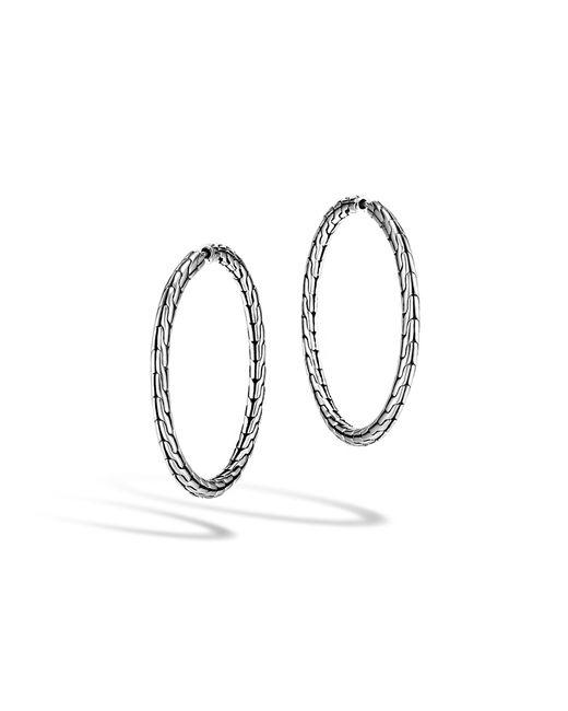John Hardy - Multicolor Classic Chain Medium Hoop Earring - Lyst