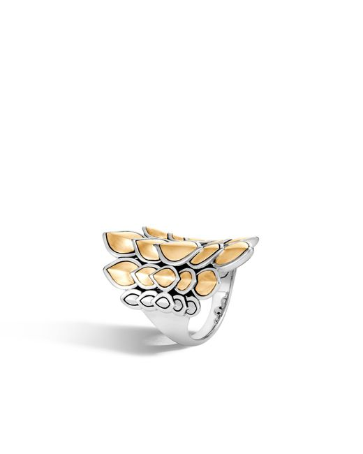 John Hardy - Metallic Naga Saddle Ring - Lyst