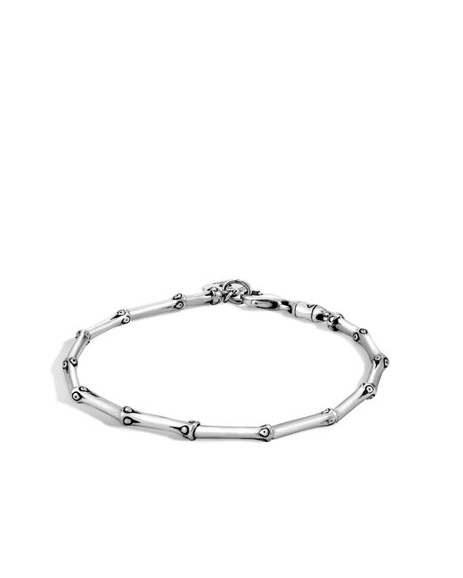 John Hardy - Metallic Bamboo Link Bracelet - Lyst