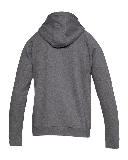 Under Armour - Gray Rival Fleece Training Hoodie for Men - Lyst