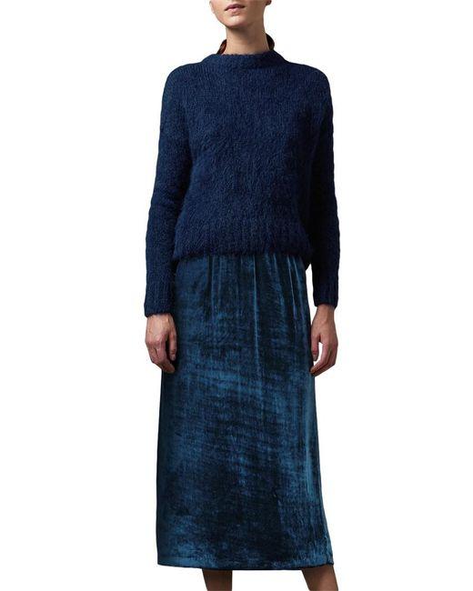 Toast   Blue Suri Alpaca Knit Jumper   Lyst