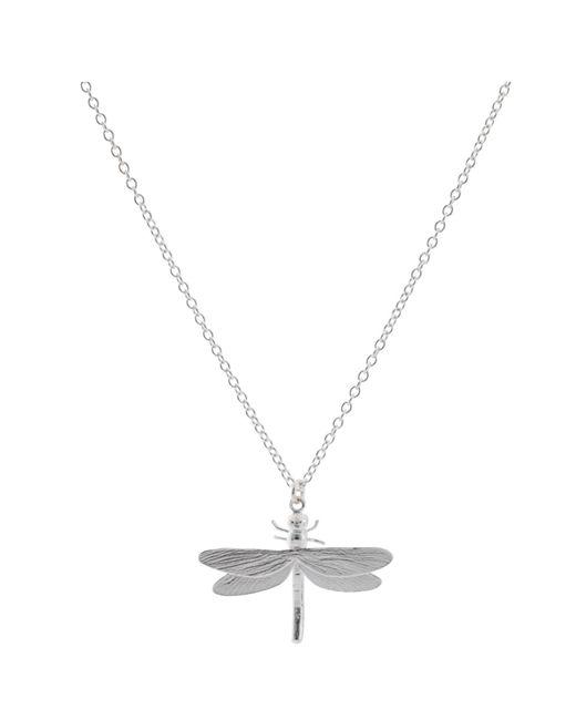 Alex Monroe   Metallic Dragonfly Necklace   Lyst
