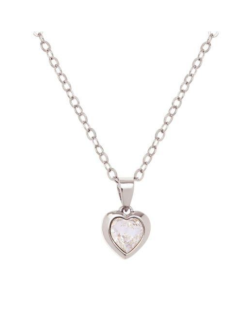 Ted Baker - Metallic Hannela Swarovski Crystal Heart Necklace - Lyst