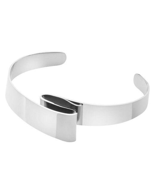 Dyrberg/Kern - Metallic Sculptured Design Bracelet - Lyst