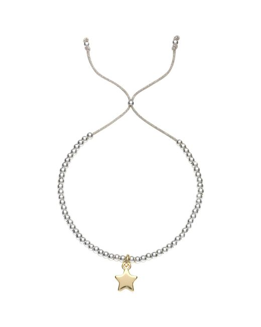 Estella Bartlett | Metallic Liberty Beaded Star Bracelet | Lyst