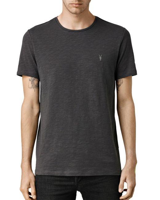 AllSaints | Black Soul Crew T-shirt for Men | Lyst