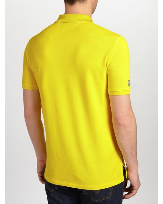 Pink pony polo golf by 39 the open collection 39 polo shirt in for Yellow golf polo shirts
