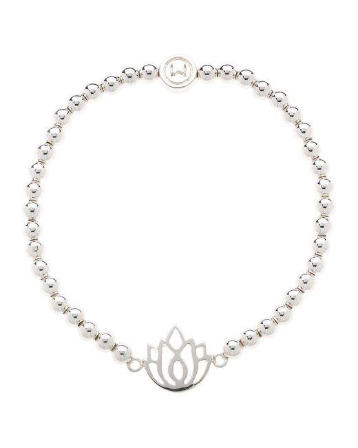 John Lewis - Metallic Melissa Odabash Lotus Stretch Bracelet - Lyst