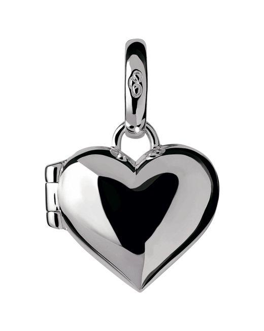 Links of London - Metallic Sterling Silver Heart Locket Charm - Lyst