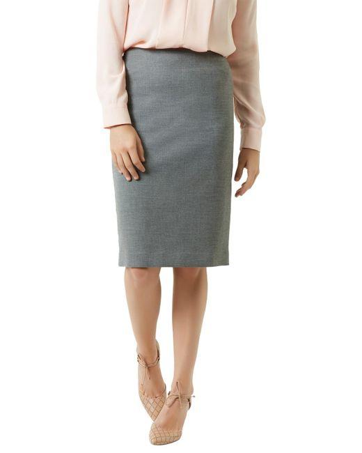 Fenn Wright Manson | Gray Petite Adele Skirt | Lyst
