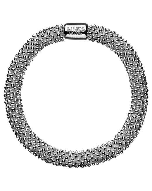Links of London - Metallic Effervescence Sterling Silver Star Bracelet - Lyst