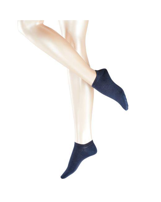 John Lewis - Blue Falke Active Breeze Trainer Socks - Lyst