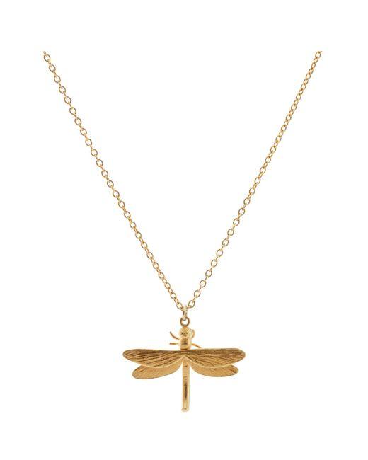 Alex Monroe | Metallic Dragonfly Pendant Necklace | Lyst
