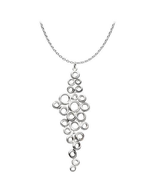 Kit Heath | Metallic Coil Cluster Pendant Necklace | Lyst