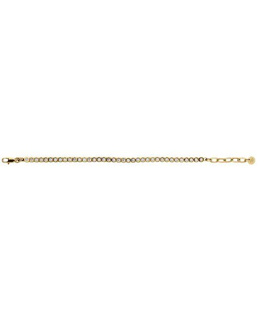 Dyrberg/Kern   Metallic Dyrberg/kern Cony Swarovski Crystal Tennis Bracelet   Lyst