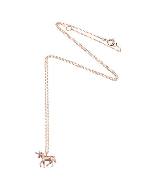 Estella Bartlett | Pink Unicorn Pendant Necklace | Lyst