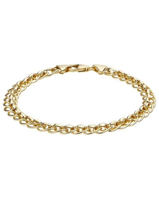 Ib&b   Metallic 9ct Yellow Gold Rollerball Bracelet   Lyst