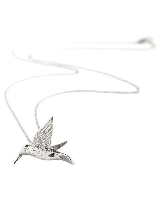 Alex Monroe | Metallic Hummingbird Pendant Necklace | Lyst