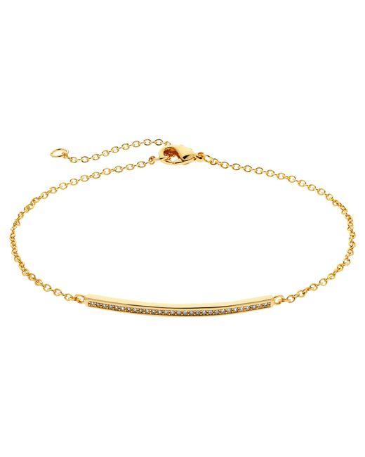 Melissa Odabash | Pink Crystal Bar Bracelet | Lyst