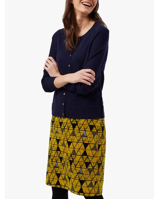 ff5703935b706 White Stuff Stockholm Pencil Skirt in Yellow - Save 21% - Lyst