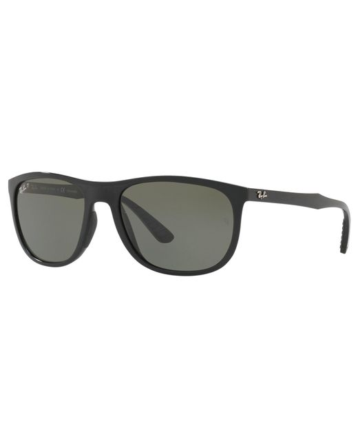 Ray-Ban - Black Rb4291 Polarised Square Sunglasses for Men - Lyst