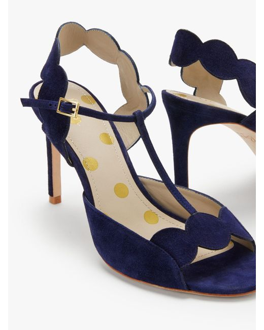 464aace1e0cb ... Boden - Blue Cecile T-bar Heeled Sandals - Lyst ...