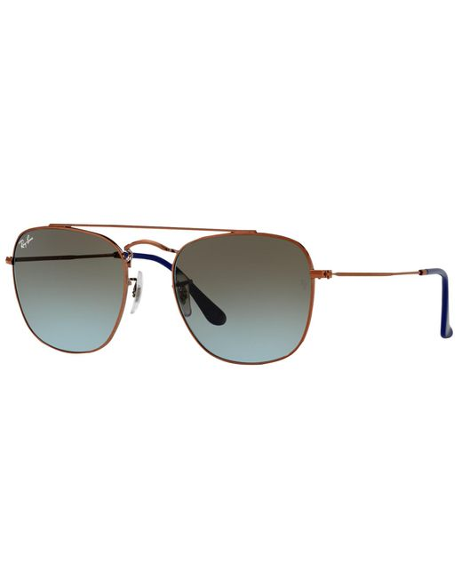 Ray-Ban | Blue Rb3557 Square Sunglasses | Lyst