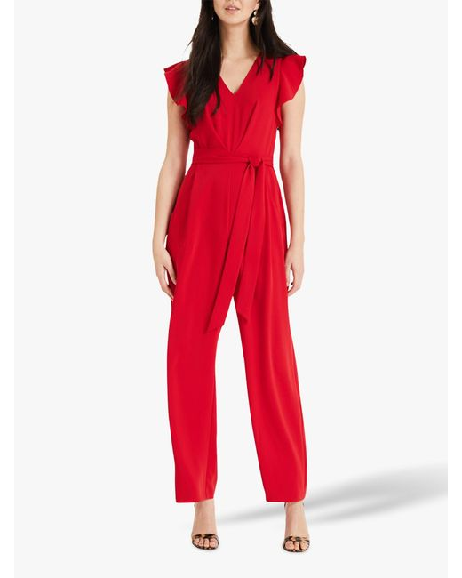 Phase Eight - Red Victoria Jumpsuit - Lyst