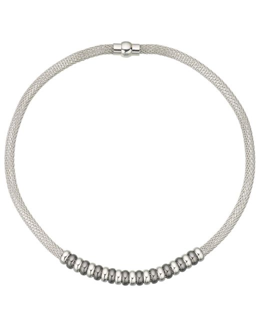 John Lewis | Metallic Mesh Polished Bead Necklace | Lyst