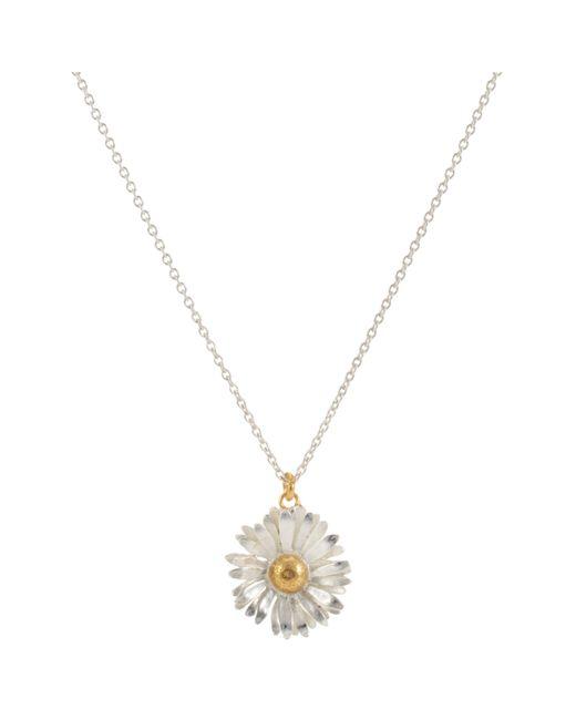 Alex Monroe - Metallic For John Lewis Daisy Pendant Necklace - Lyst