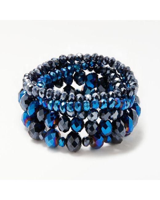 John Lewis | Blue Multi Stretch Bracelet | Lyst