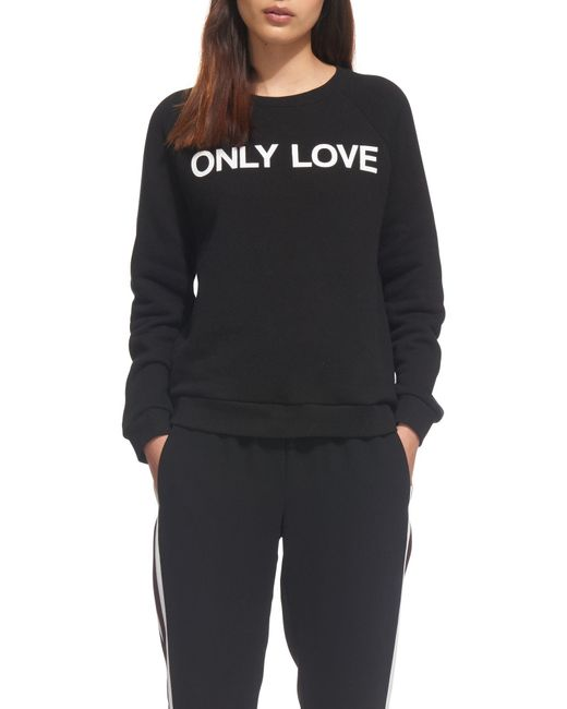 Whistles - Black Only Love Sweater - Lyst
