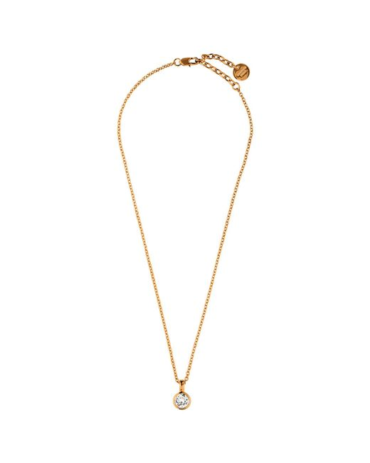 Dyrberg/Kern   Pink Dyrberg/kern Ette Swarovski Crystal Pendant Necklace   Lyst