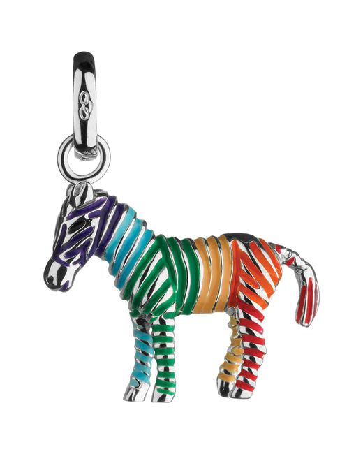 Links of London | Multicolor Sterling Silver Rainbow Zebra Charm | Lyst