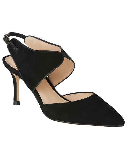 L.K.Bennett | Black Cecily Two Part Court Shoes | Lyst