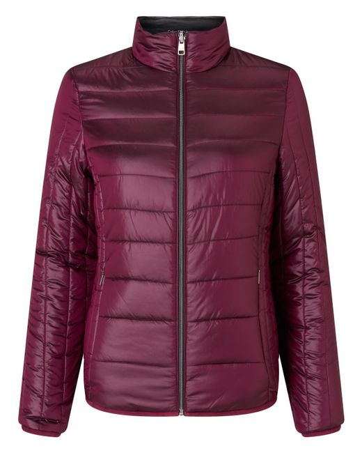 Calvin Klein | Purple Oralie Reversible Padded Jacket | Lyst