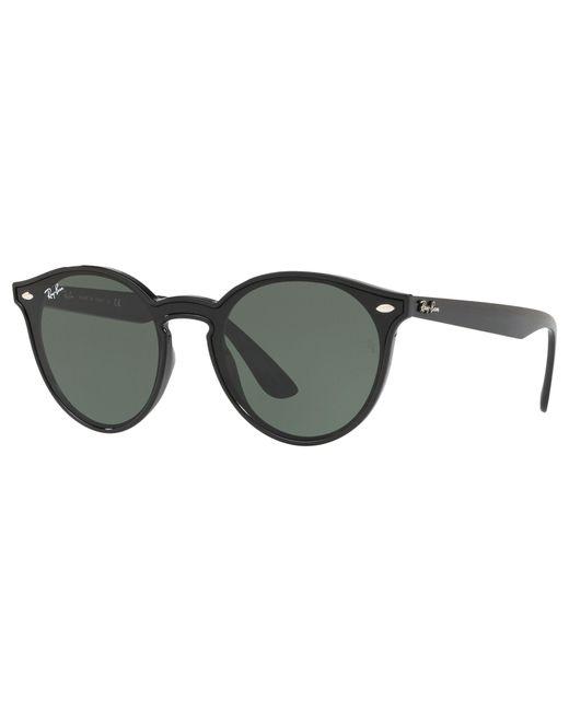 3de9b5c1f94 Ray-Ban - Black Rb4380n Unisex Oval Sunglasses for Men - Lyst ...