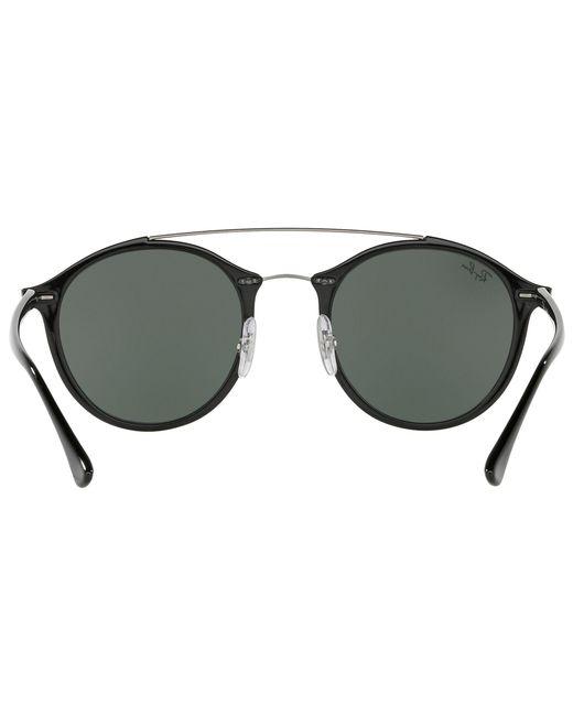 a9b78b366c ... Ray-Ban - Black Rb4266 Oval Sunglasses - Lyst ...