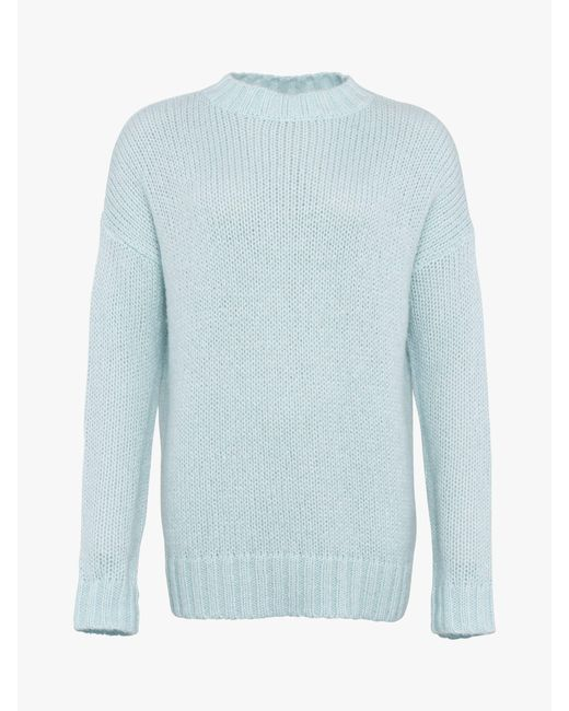 01d43929de8 French Connection Crew Neck Jumper in Blue - Save 10% - Lyst