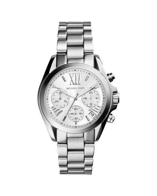 Michael Kors - Metallic Mk6174 Women's Bradshaw Chronograph Bracelet Strap Watch - Lyst