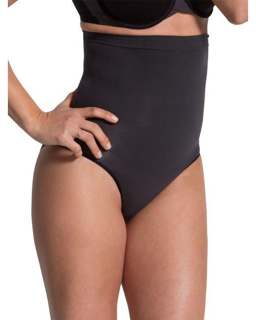 Spanx - Black New Higher Power Pants - Lyst