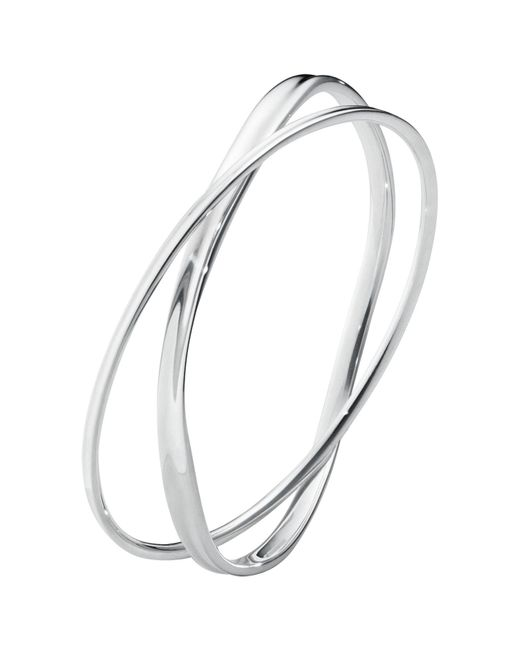 Georg Jensen - Metallic Marcia Double Bracelet - Lyst