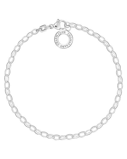 Thomas Sabo | Metallic Charm Club Fine Sterling Silver Chain Bracelet | Lyst