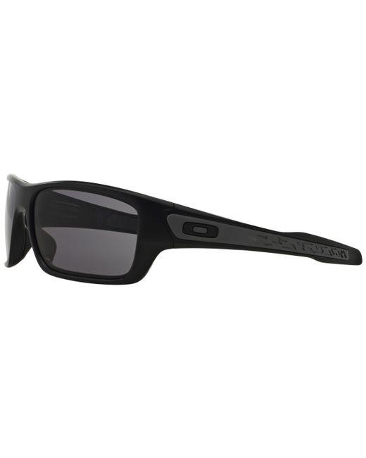 3794273de1 ... Oakley - Black Oo9263 Turbine Rectangular Sunglasses for Men - Lyst ...