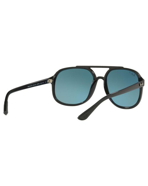 0e7f6ec4d9 Ray-Ban Rb4312 Men s Square Sunglasses in Black for Men - Lyst