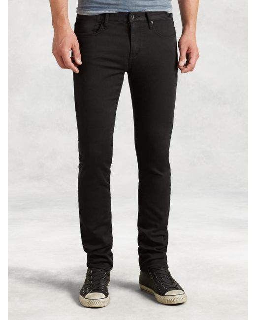 John Varvatos - Black Bowery Knit Jean for Men - Lyst