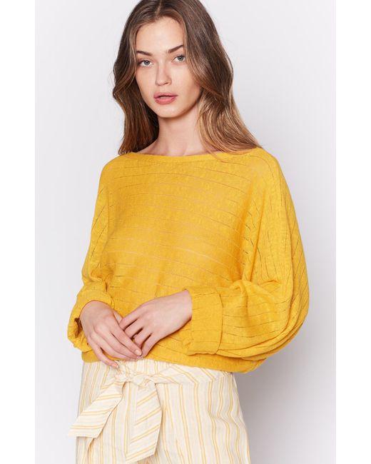 Joie - Yellow Brooklynn Sweater - Lyst