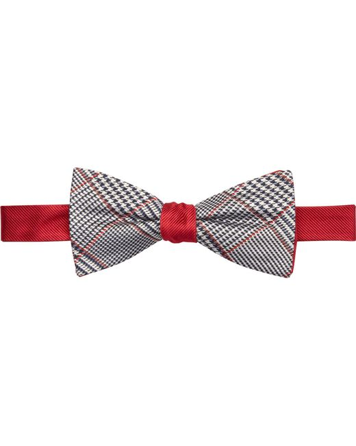Jos. A. Bank - Red 1905 Collection Houndstooth Plaid Bow Tie Clearance for Men - Lyst