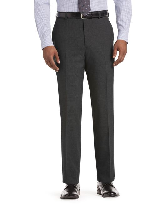Jos. A. Bank - Gray 1905 Collection Tailored Fit Mini Houndstooth Dress Pants Clearance for Men - Lyst